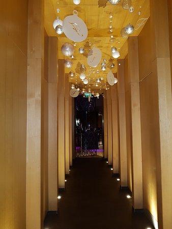The Fitzwilliam Hotel Belfast: Corridor to the Bar