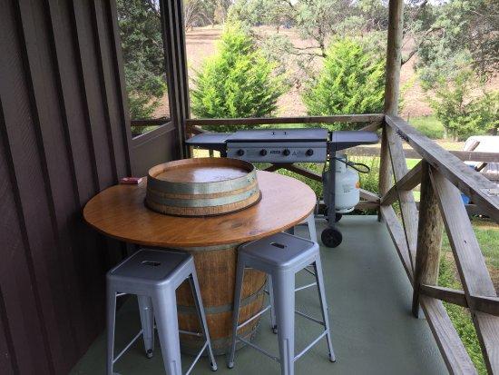 New Norfolk, Australia: Front balcony