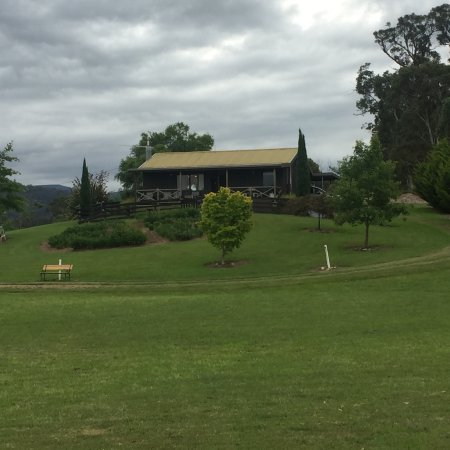 New Norfolk, أستراليا: Front view of the Rangers Cabin