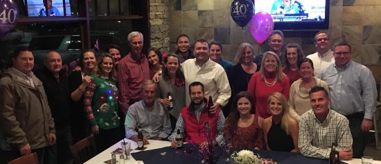Calhoun's Turkey Creek: Wife's 40th Birthday