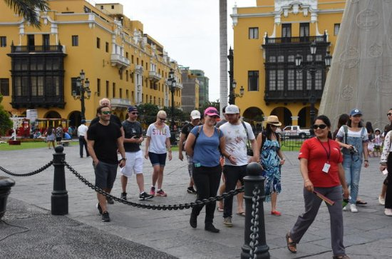 Total Lima Tour including Pisco Sour...