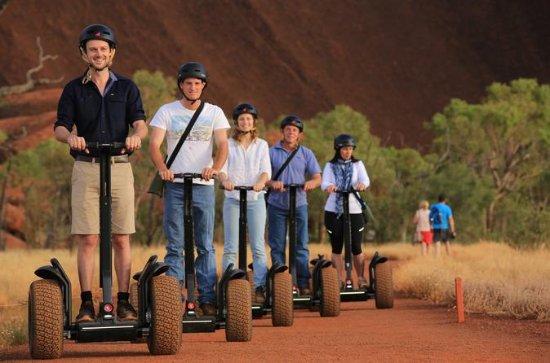 Uluru mit dem Segway