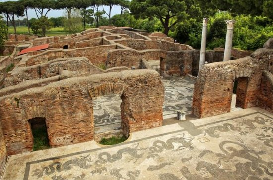 Oude privéwandeling door Ostia