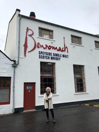 Benromach: The door to the distillery