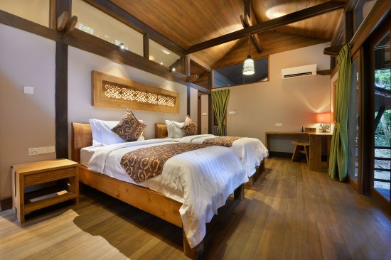 Kinabatangan District, Malaysia: Our Villa rooms come in Twin and also Double arrangements