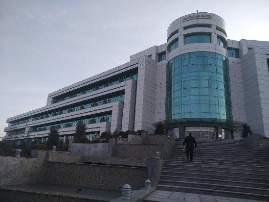 Naftalan, Azerbaijan: Санаторий Qasalti