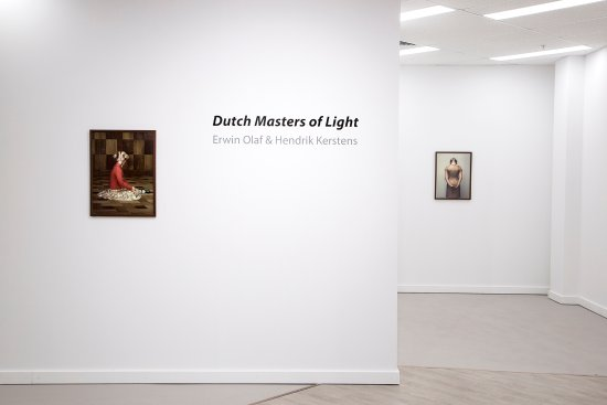 Subiaco, Australia: Gallery installation view of 'Dutch Masters of Light' Erwin Olaf and Hendrik Kerstens 2017