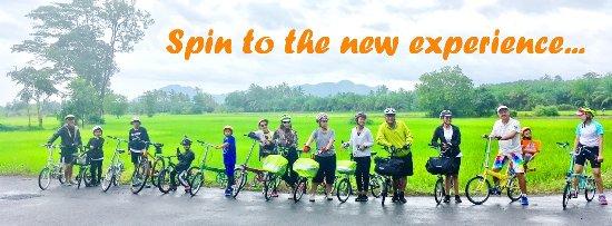 Hat Yai, Tailandia: Riding bike to the nature