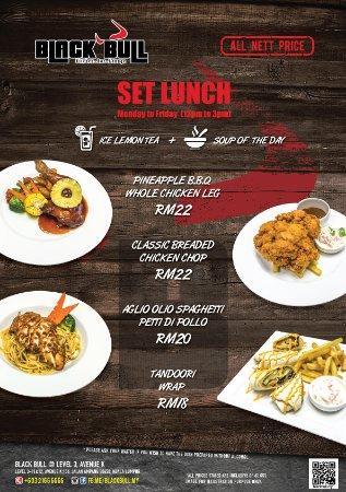 Black bull kitchen bar lounge kuala lumpur restaurant for Zaffron kitchen set lunch