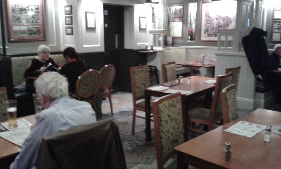 Moon in the Square: Lower Dining area