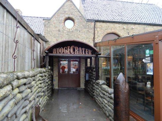 Hooge Crater museum: Ingang museum