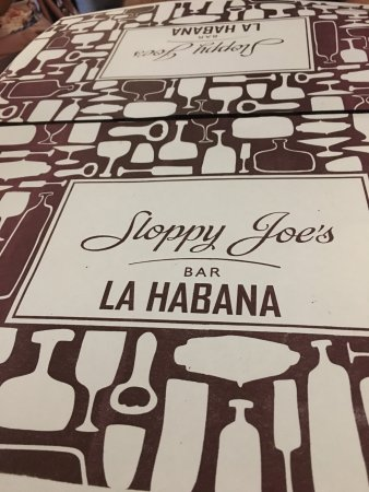 Sloppy Joe's bar in downtown Havana