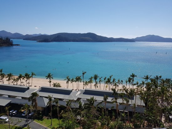 Reef View Hotel: View from the Coral Sea View room