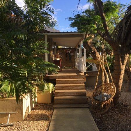 Bamboo Bali Bonaire - Boutique Resort: Walking on Sunshine