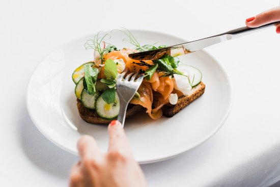 House for an Art Lover - Art Lovers Cafe: Smoked Salmon