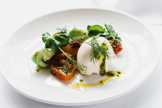 House for an Art Lover - Art Lovers Cafe: Heritage tomato & Mozzarella
