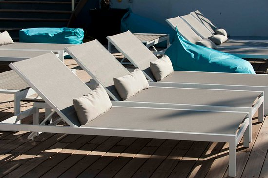 Le Spinaker Boutique Hôtel Spa Restaurant : Piscine roof top