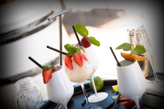 Le Spinaker Boutique Hôtel Spa Restaurant : The Deck cocktail