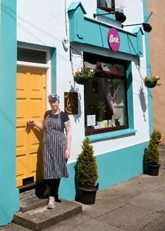 Collooney, Ireland: Nook Cafe