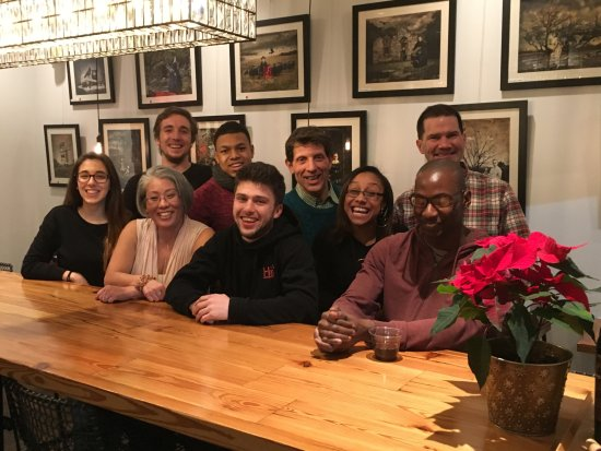 Plainfield, NJ: Staff holiday dinner