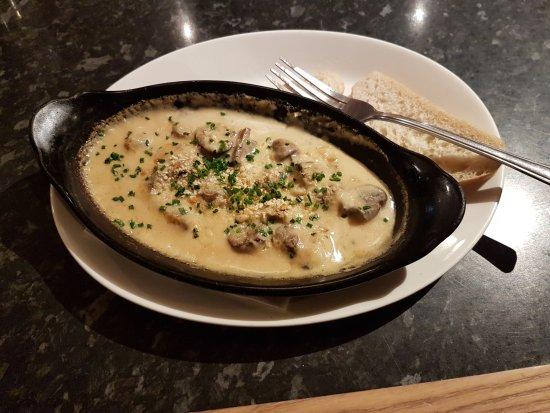 how to make garlic mushroom starter