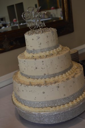 Buttercream Wedding Cakes.Wedding Cake Vanilla With A Buttercream Frosting Picture