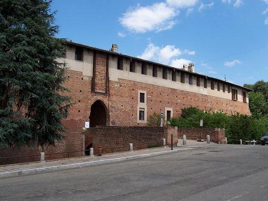 l'ingresso del castello di Bereguardo