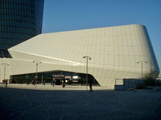 CityLife Shopping District: L'ingresso al piano superiore