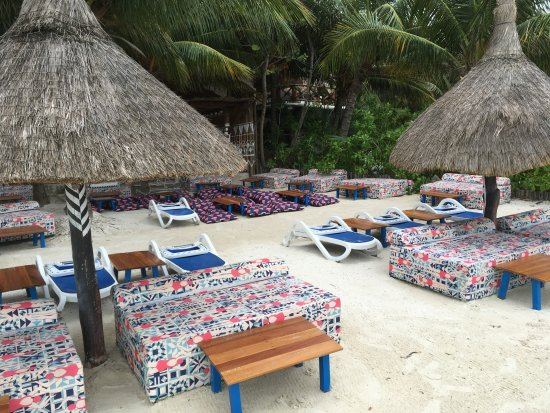 Holbox Dream Beach Front Hotel by Xperience Hotels: Strandgelände