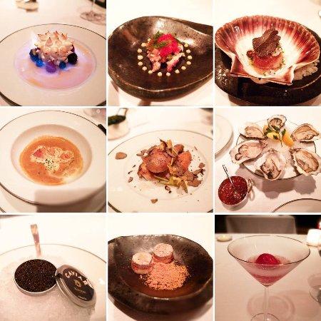 Tables Grill at Grand Hyatt Erawan Bangkok: wonderful range