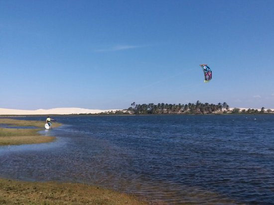 Icarai de Amontada: Kite and sup trip