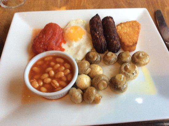 Benenden, UK: Vegetarian breakfast