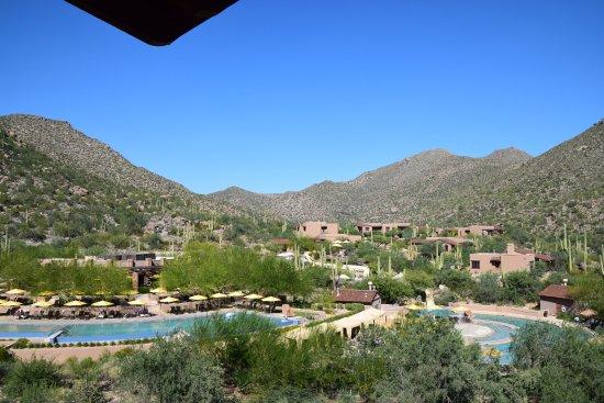 The Ritz-Carlton, Dove Mountain: View from the balcony.