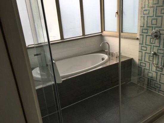 Dorsett Shanghai: Open shower concept