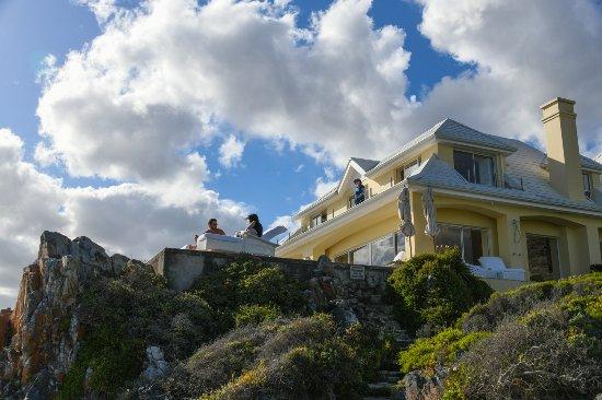 Birkenhead House : Blick vom Klippen-Pfad