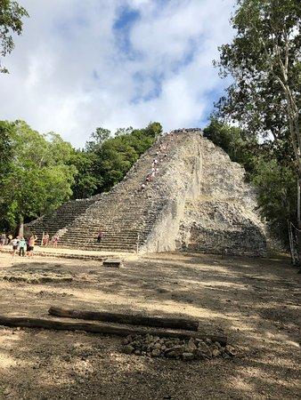 Maya Can Eco Tours : Main Temple at Coba'