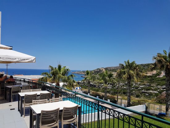 Camari Garden Hotel Apartments: View from the restaurant
