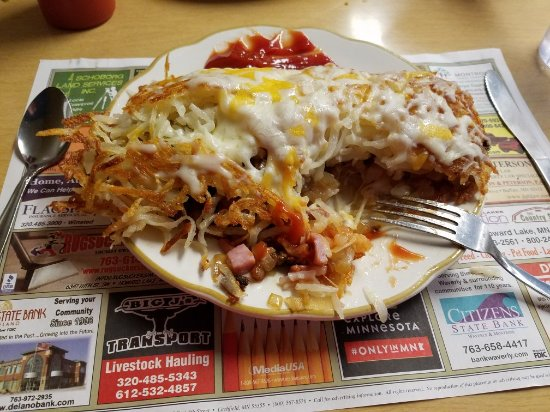 Waverly Cafe - Stuffed Hash browns