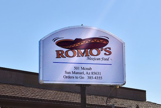 San Manuel, Αριζόνα: Romo's Mexican Food