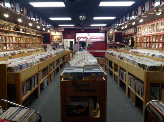 Revival Records Eau Claire WI.