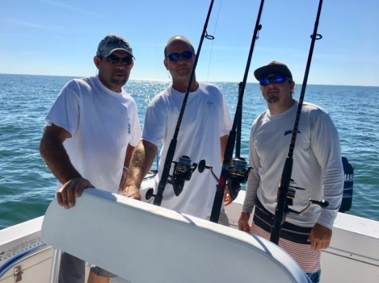 Couple time offshore fishing charter near marco island for Fishing charters marco island fl