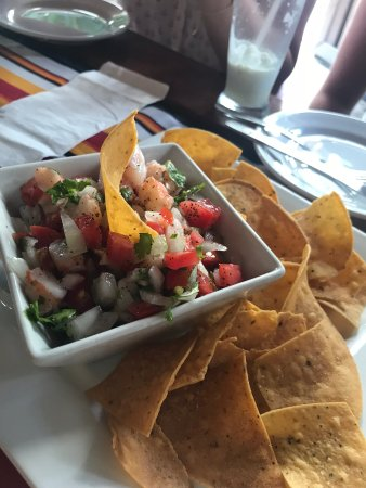 El Fogon: Shrimp Ceviches