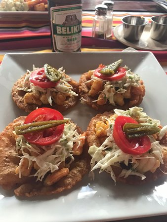El Fogon: Shrimp Salbutes
