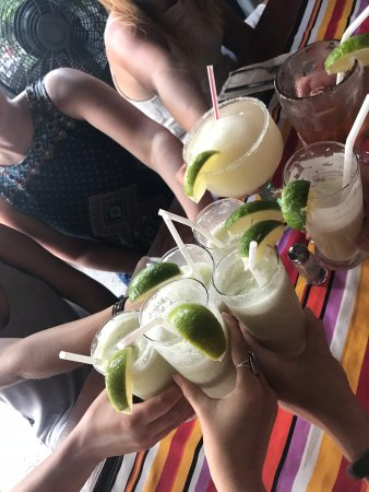 El Fogon: frozen drinks