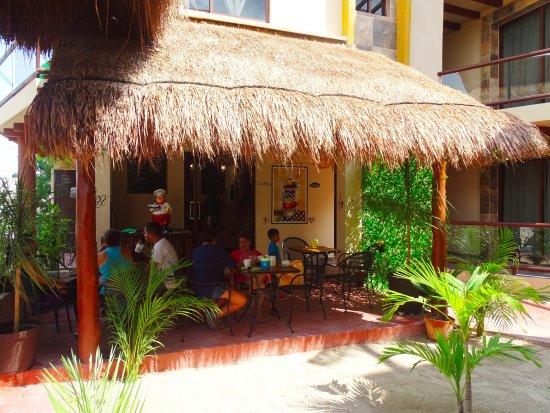 Cafeter a foto villas el jardin holbox island for Villas de jardin seychelles tripadvisor