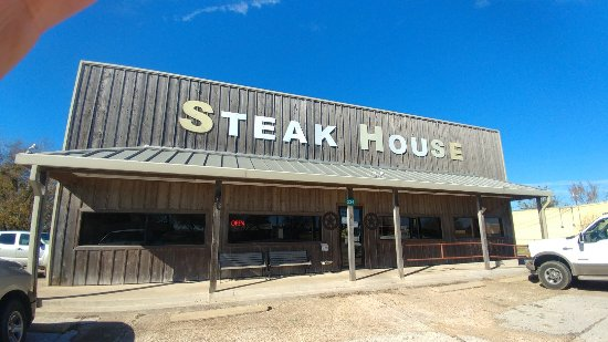 Snook, TX: Sodolak's Country Inn and the Famous Chicken Fried Steak.