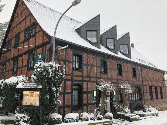 Aerzen, Germany: Sieht gar nicht aus wie ein Hotel, ist aber eins.