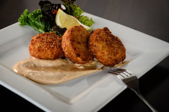Cobble Hill, Canadá: Home made crab cakes