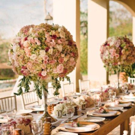 Villa Buena Onda Wedding - Dining Table Setup & Wedding - Dining Table Setup - Picture of Villa Buena Onda Playas ...