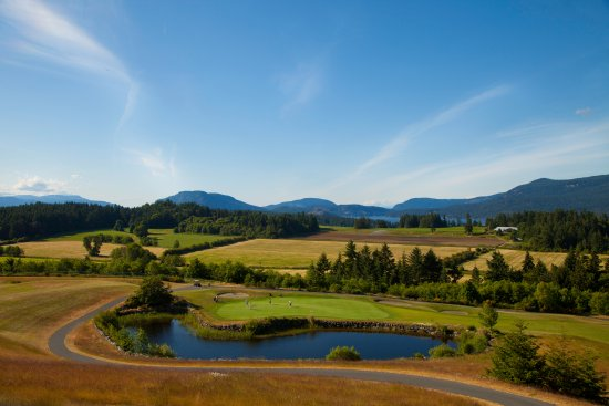 Cobble Hill, Canada: View from the clubhouse